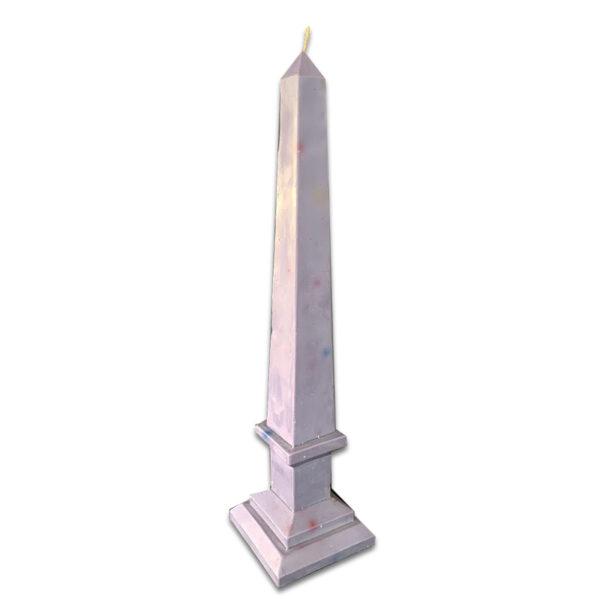Vela Obelisco Morado