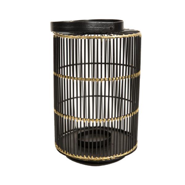Fanales negro con dorado L