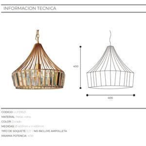 Lámpara BF Design 21